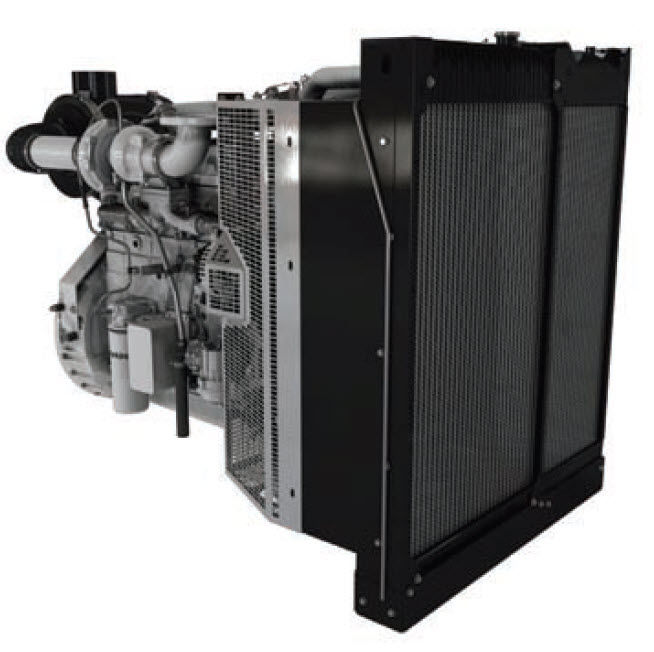 Diesel engine / 6-cylinder / turbocharged / for generator
