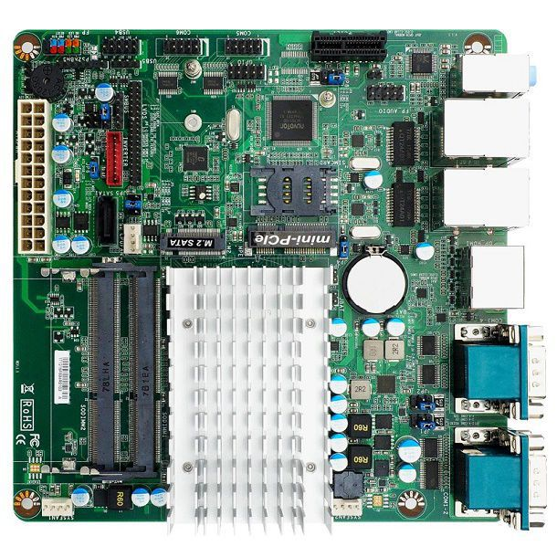 Mini-ITX motherboard / Intel® Celeron® / Intel® Pentium