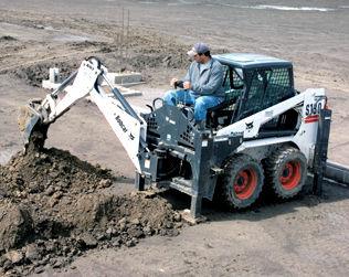 Skid steer loader - S450 - BOBCAT