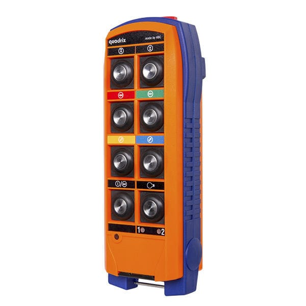 Radio remote control / 8-button / IP65 / for lifting equipment
