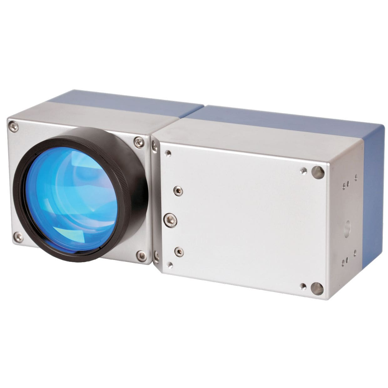 Compact laser scanner head / for laser marking systems / 3-axis