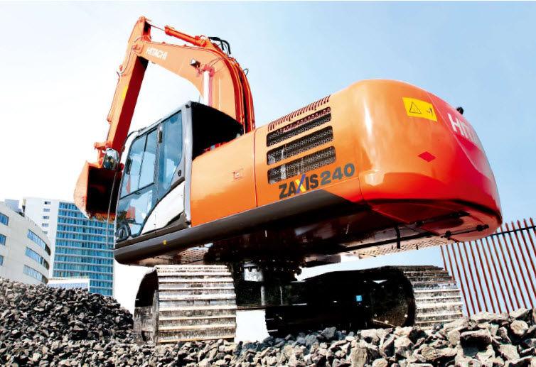 Medium excavator / crawler / Tier 2 / construction - ZX240LC-5G