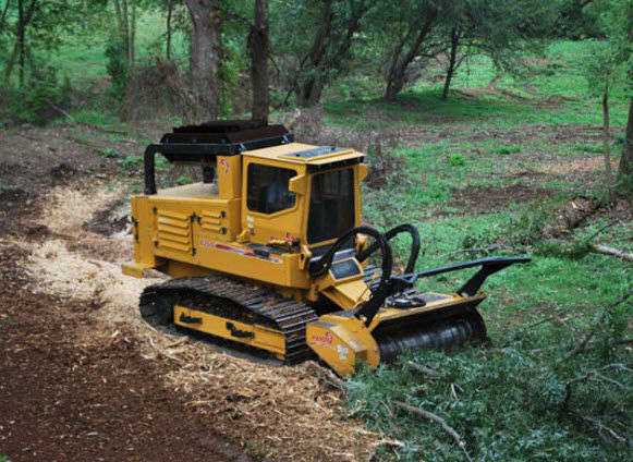 Forestry mulcher - 360hp (269kW) | T360 - RAYCO