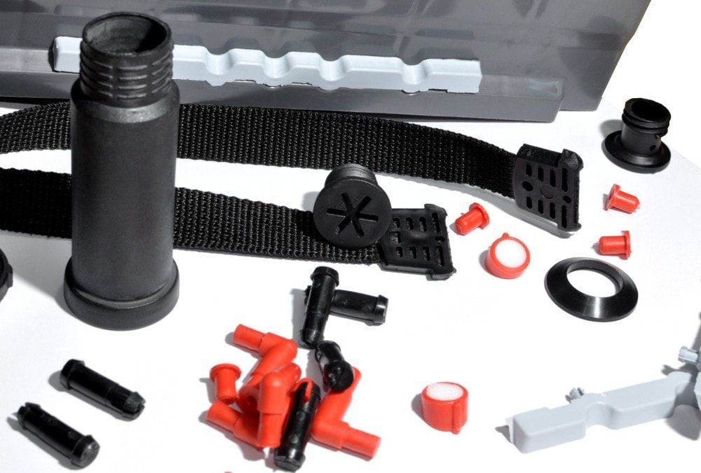 ABS plastic injection molding / lids / ISO 9001 / ISO 14001 - Pomel