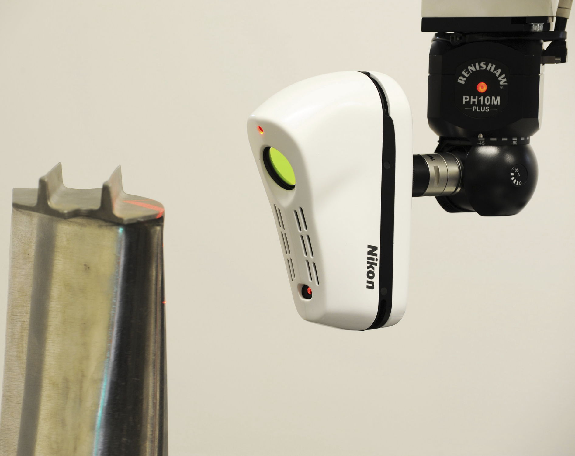 3D scanner / CMM / measurement / laser - L100 - Nikon