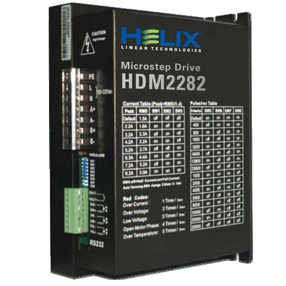 Stepper motor drive - HDM2282 - Helix Linear Technologies