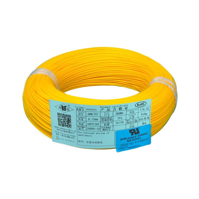 Insulated Electrical Wire Ul1707 Series Shanghai Shenyuan High Temperature Wire Co Ltd Copper Flexible Multi Strand