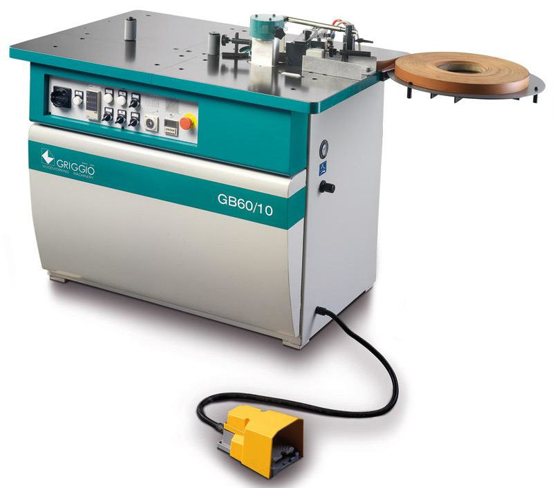 Automatic edge-banding machine / for wood - Messers Griggio