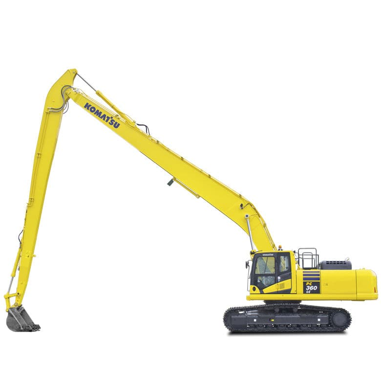 Medium excavator / crawler / diesel / construction - SLF/LR