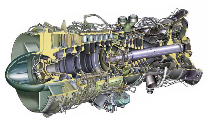 Gas turbine / aeroderivative / for power generation / mechanical drive  RB211 series Rolls Royce