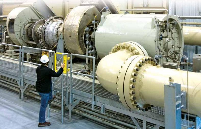 Gas Compressor Stationary Electrically Powered