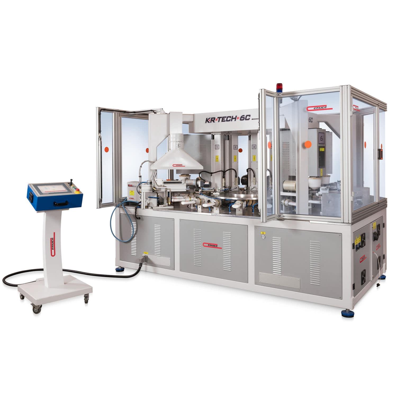 Automatic pad printing machine KR TECH 6C 160 COMEC ITALIA