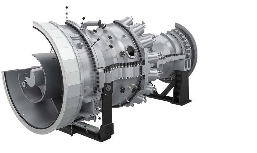 Gas turbine / for power generation - SGT6-5000F - SIEMENS