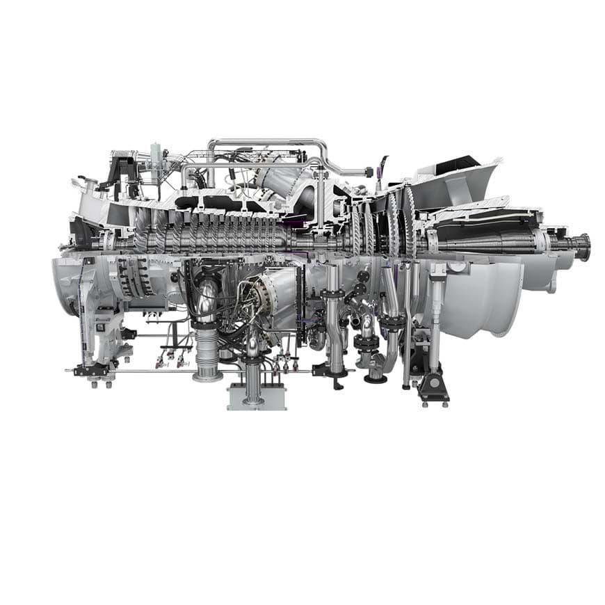 Gas turbine / aeroderivative / for power generation SGT-750 SIEMENS Engines  & Gensets