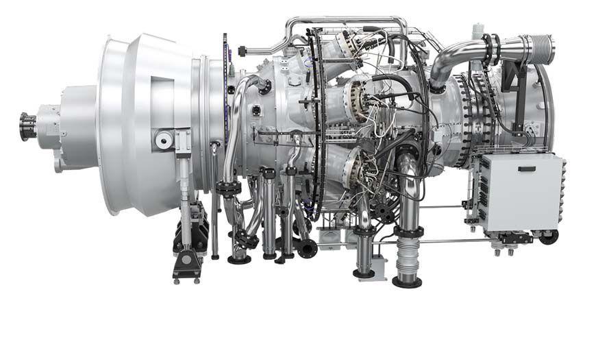 Gas turbine / aeroderivative / for power generation - SGT
