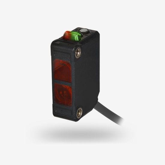 Diffuse photoelectric sensor - BJR-F series - Autonics - retroreflective /  through-beam / rectangular