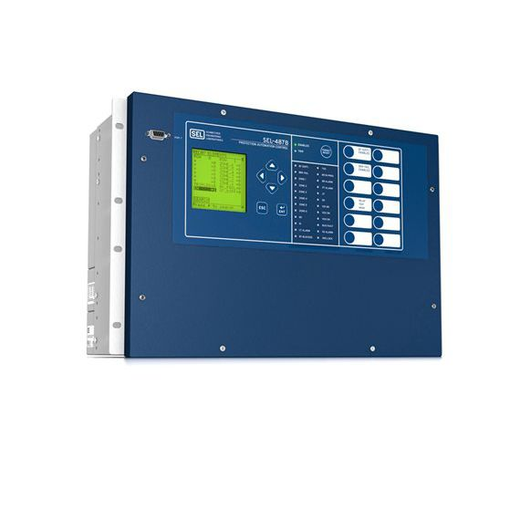 Over-current protection relay / three-phase / differential