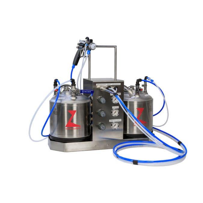 Cold glue dispensing machine / polyurethane / styrofoam glue - NZV91