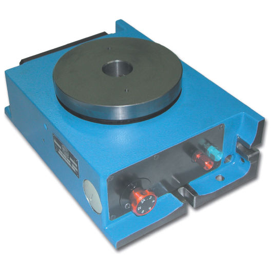 Pneumatic rotary indexing table / horizontal / vertical