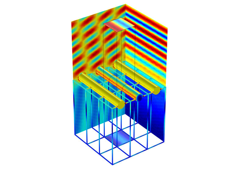 Electromagnetic field simulation software / design / 2D/3D - RF