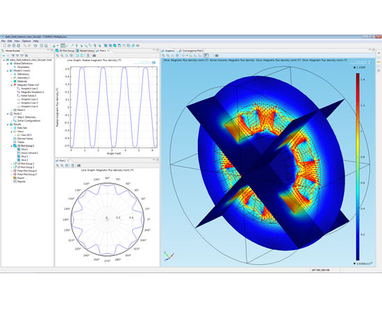 Modeling software / electromagnetic field simulation / 2D/3D - AC/DC