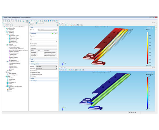Electromagnetic field simulation software / engineering