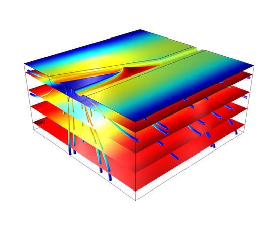 Simulation software / modeling / fluid flow / automated