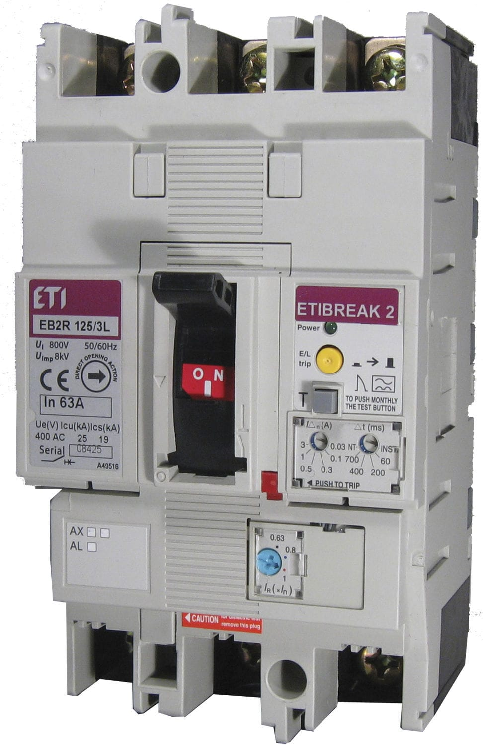 Multi Pole Residual Current Circuit Breaker Modular Din Rail Adding A New Requires Another Molded Case 004671501