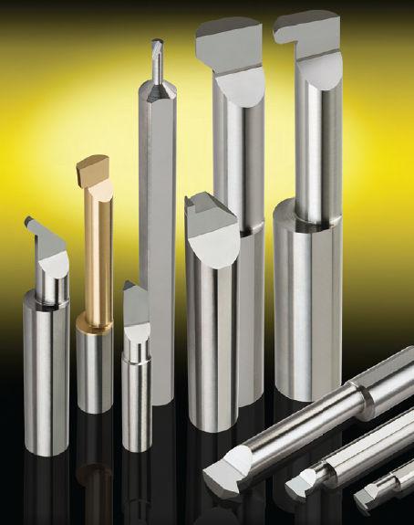 Solid Carbide Tool Micro 100 HBB-2101500 Helical Back Rake Boring Tool 0.185 Neck Diameter 0.210 Minimum Bore Diameter 1.5 Maximum Bore Depth 2.5 Overall Length 0.250 Shank Diameter