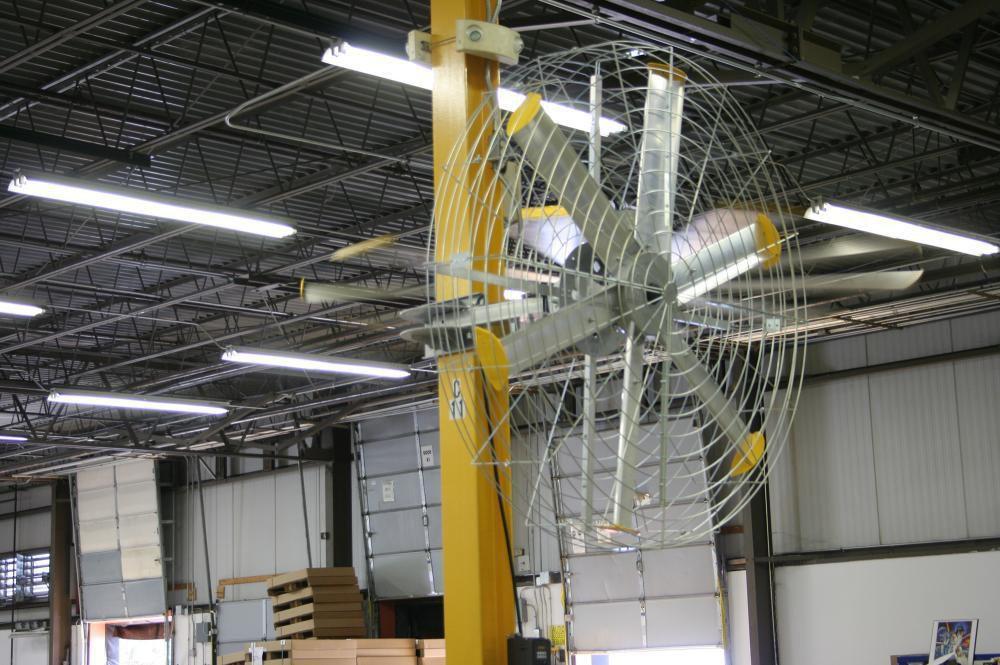 Big As Fan >> Wall Mounted Fan Axial Ventilation Industrial Pivot Big