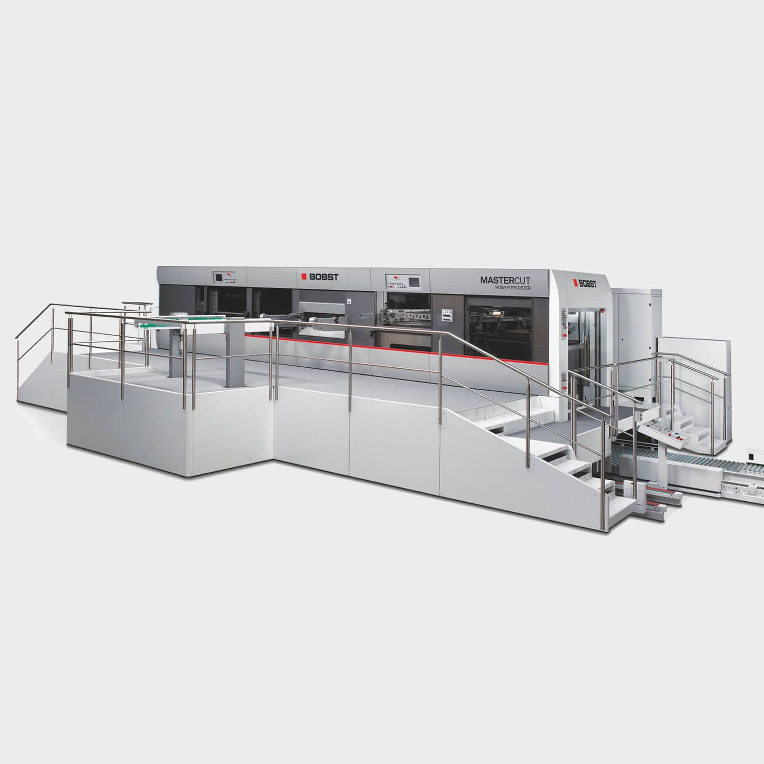 Paper Cutting Machine For Metal Die CNC MASTERCUT 145 PER BOBST