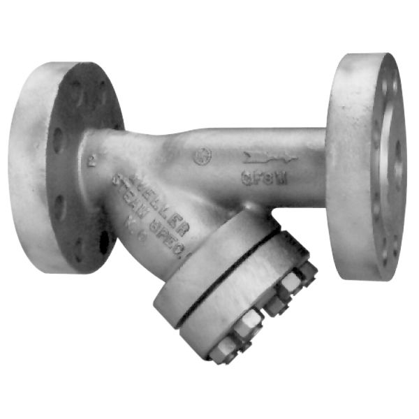 Steam filter / strainer / for high-pressure applications / Y