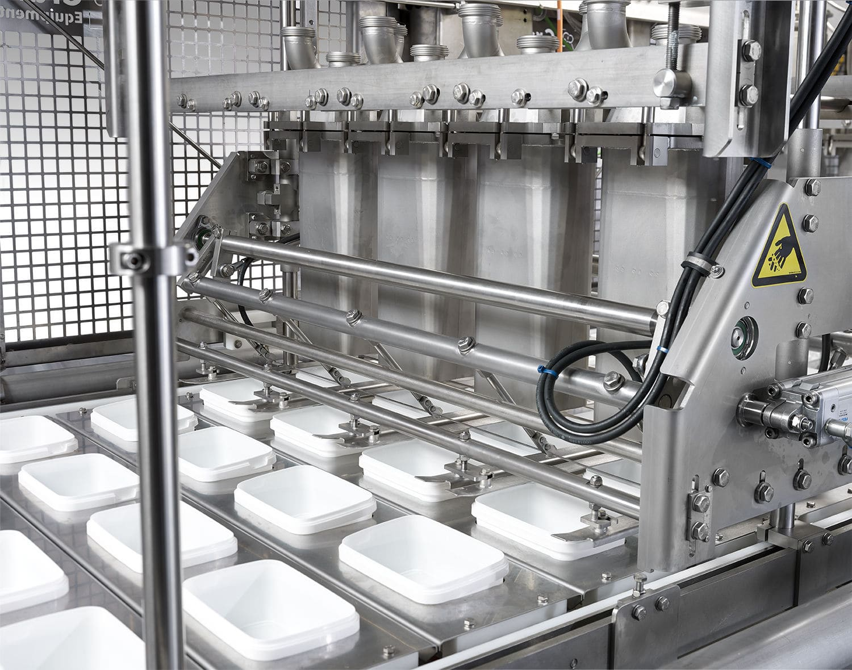 Ice cream filling and hardening line - Flexline - Gram Equipment
