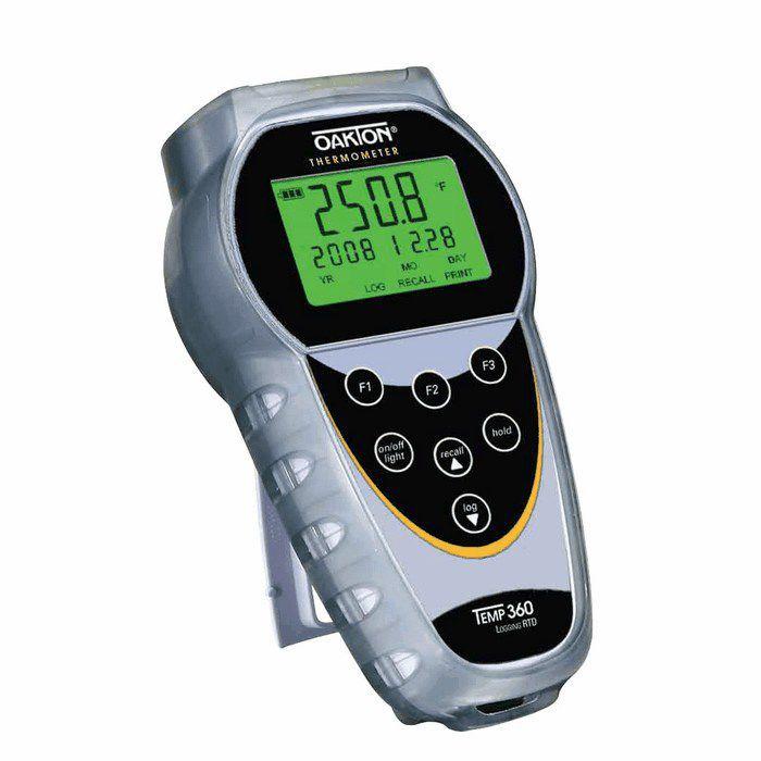 Rtd Thermometer Digital Portable Rugged Temp 360 Oakton