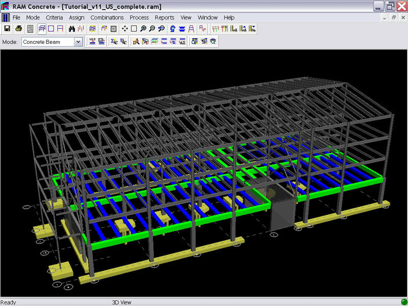 Analysis Software Ram Concrete Bentley Systems Europe B V Design Concrete Structure