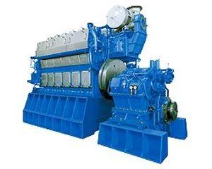 Diesel engine / 8-cylinder / turbocharged / marine - 8DKM-28e