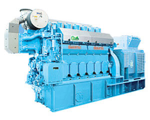 Diesel engine / for marine applications - 400 - 850 kWm | 6DE-18