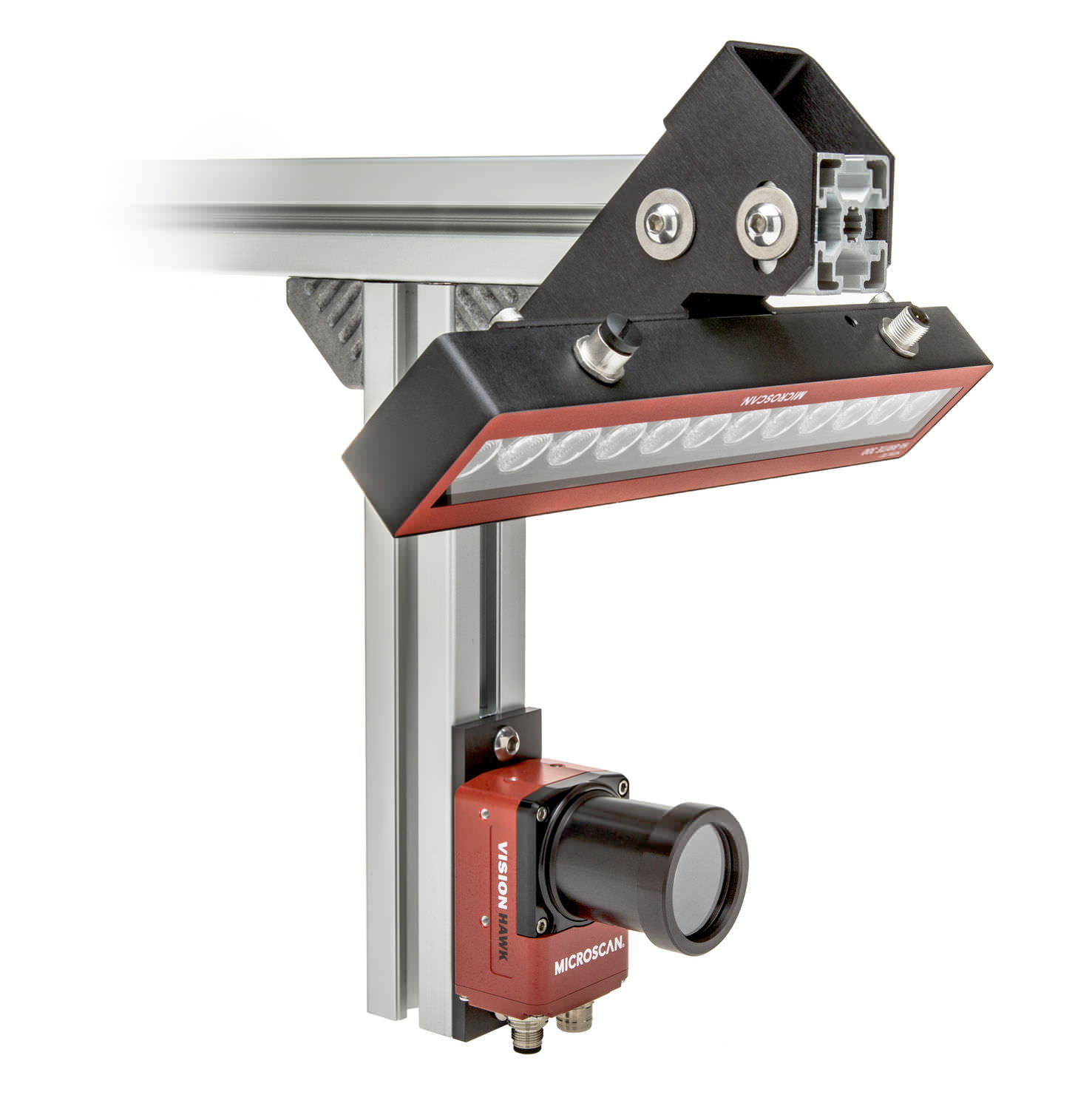 Barcode Verification vision system with camera for inspection tasks - large