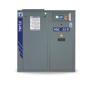 Air compressor / stationary / electrically-powered / screw - HSC 22D