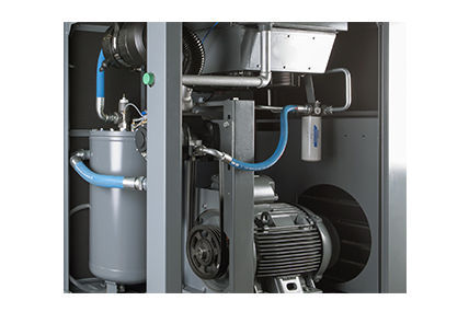 Air compressor / stationary / electrically-powered / screw - HSC 45