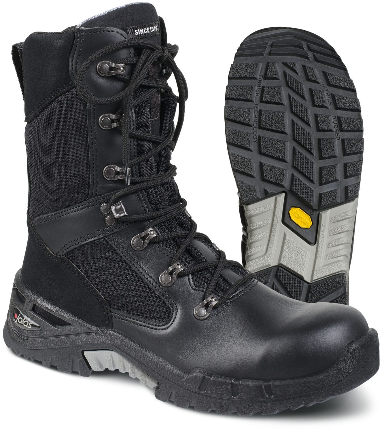 21316bd5646 Waterproof safety boots / leather - 9552 Combat - Ejendals Suomi Oy