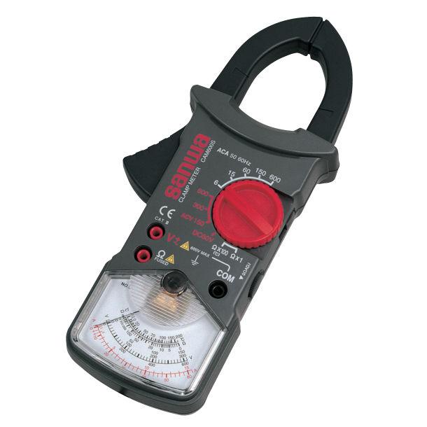 Analog clamp multimeter / portable / 600 V - CAM600S - Sanwa