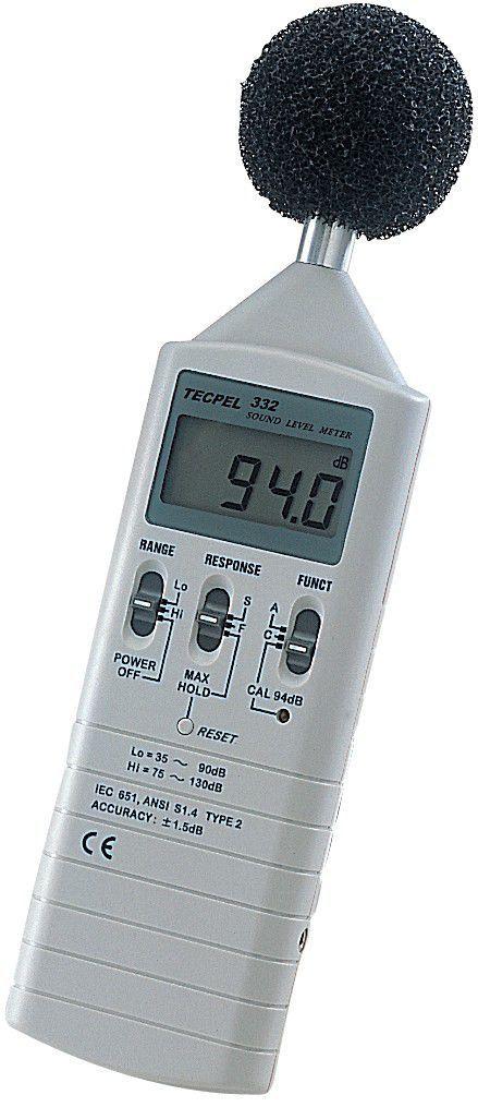 Basic sound level meter / class 1 / digital / with internal