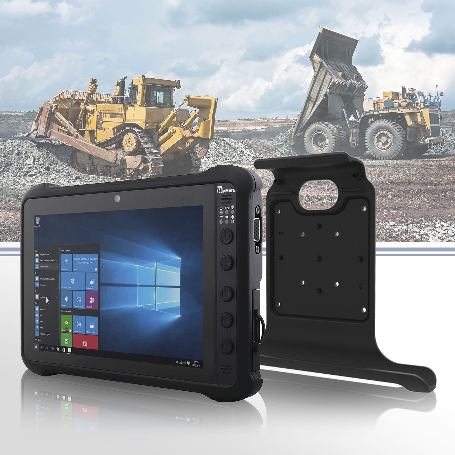 Rugged Tablet Windows 8 Intel Pentium M900p
