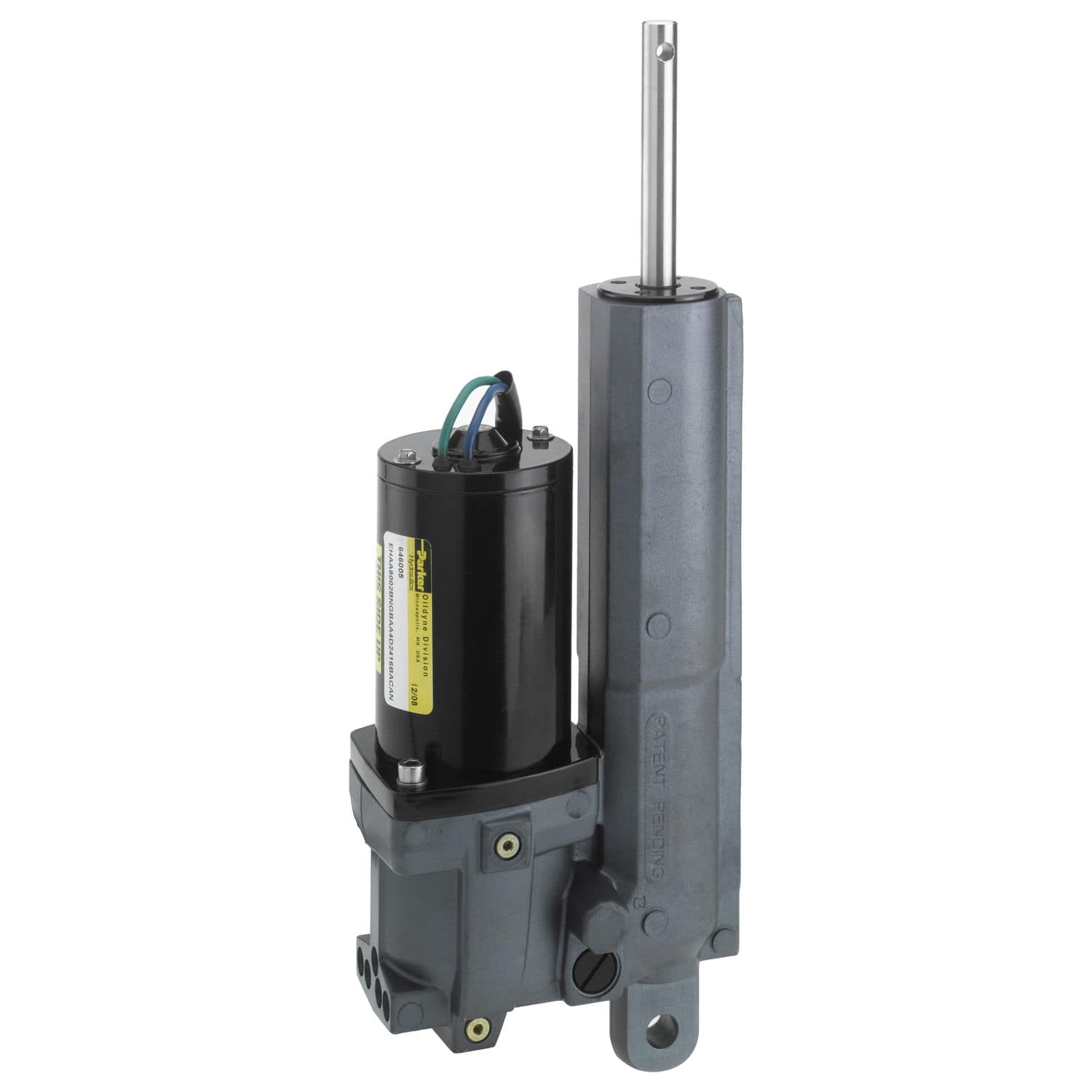 Linear actuator / hydraulic / compact - EHA - Parker