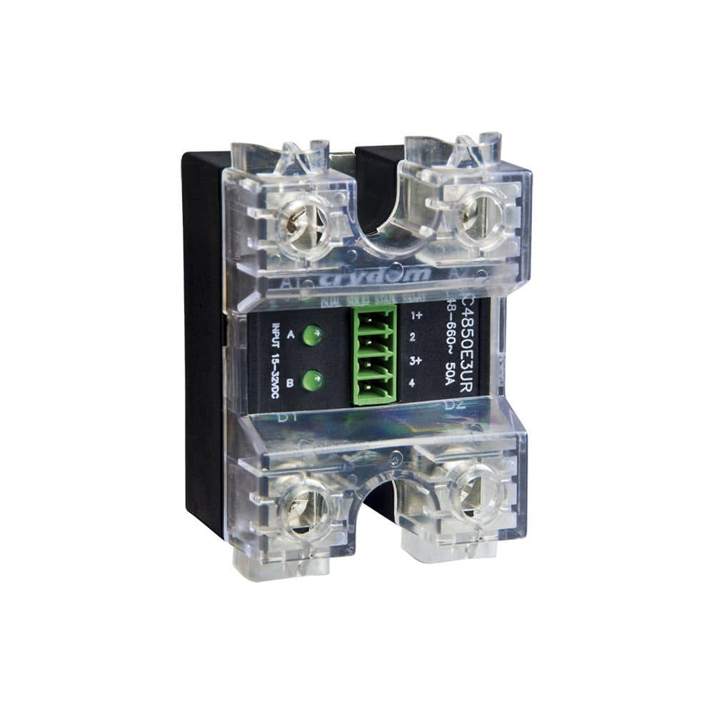 Crydom Dual Solid State Relay 4 to 32VDC 50A