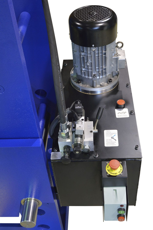 Hydraulic press / straightening / workshop / wide - 300 ton M/H-M/C