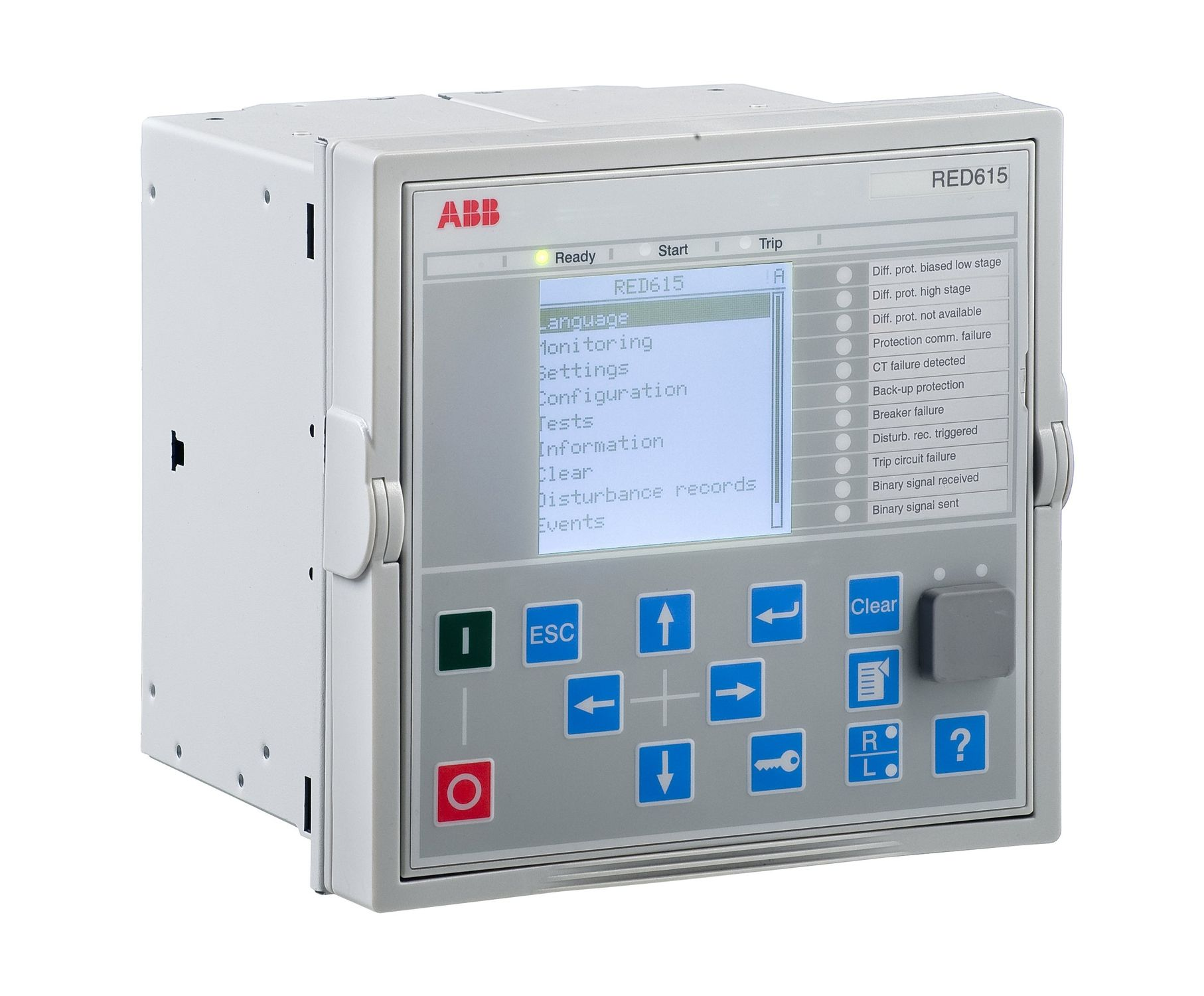 Phase protection relay / panel-mount / programmable / digital