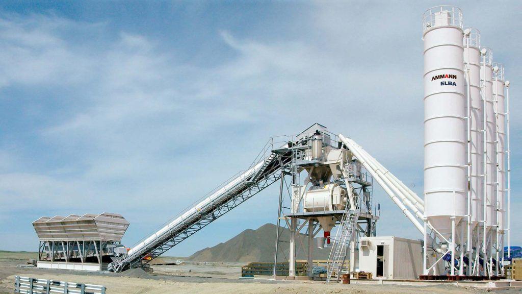 Stationary concrete batching plant - CBS 180–200 TB ELBA - Ammann