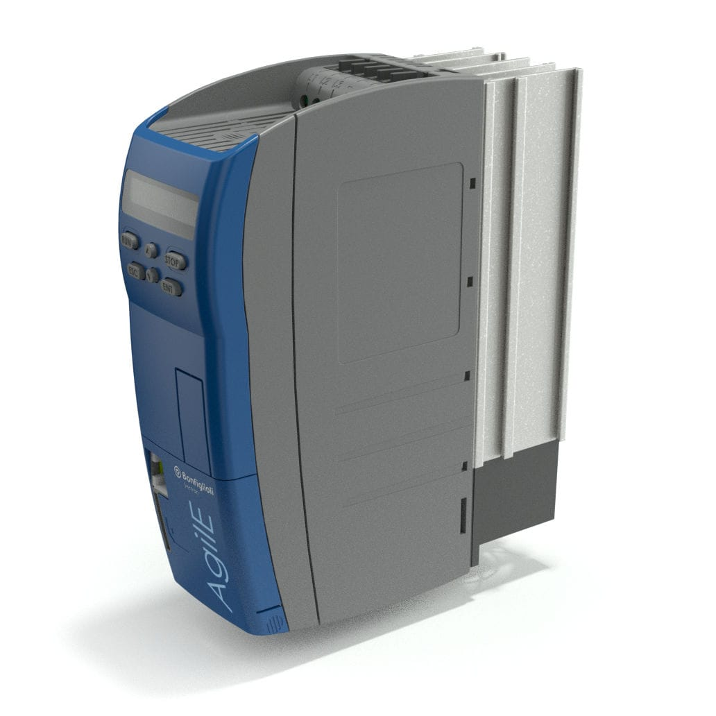 Vector control frequency inverter / vertical / for